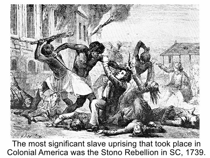 stono rebellion 1739