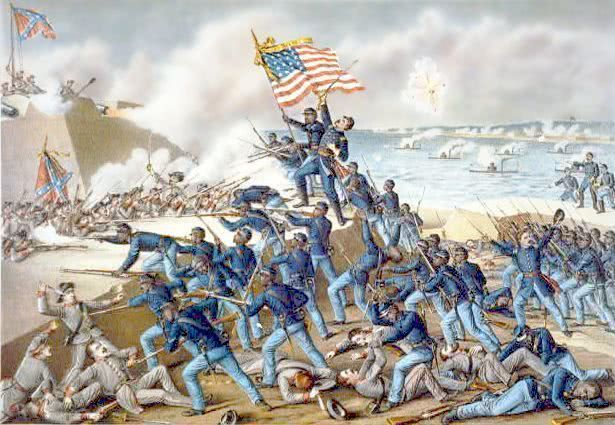 Battle of Ft Wagner - /American_History/civil_war/battles ...