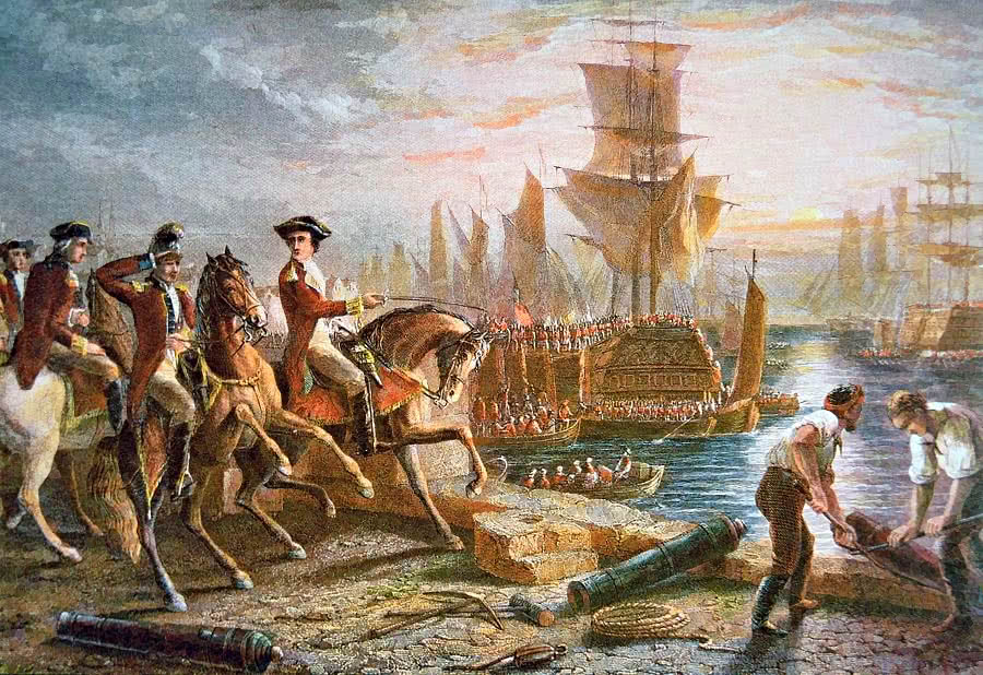 British evacuation of Boston 1776