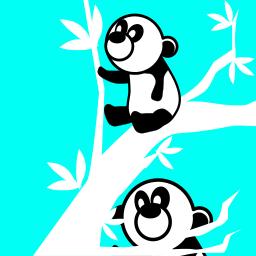 Pandas In Tree Animals B Bears Panda Pandas In Tree Png Html