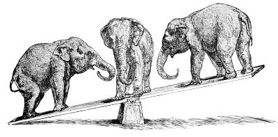 elephant balancing   animals  e  elephant  elephant elephant clip art black and white elephant clip art free
