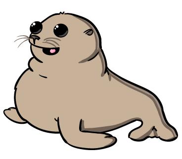 seal baby clipart - /animals/aquatic/seal/seal_baby ...