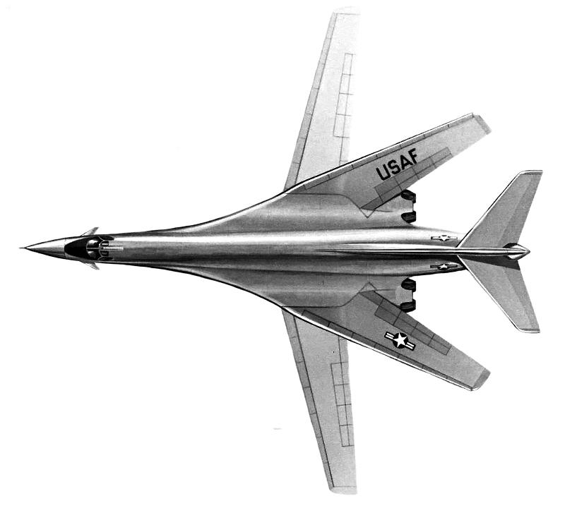 B 1b Top View Armed Services Airplanes Bombers B1 B 1b