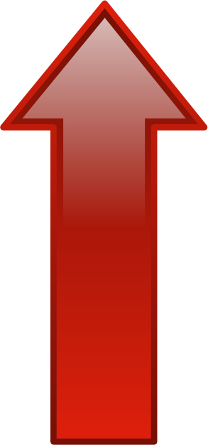 arrow glossy up red - /blanks/arrows/arrows_glossy/arrow_glossy_up_red ...
