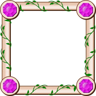 ivy square frame - /blanks/assorted/ivy_square_frame.png.html