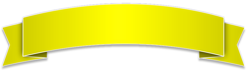 glossy banner yellow   blanks  banners  glossy banner clip art banners free clip art banners