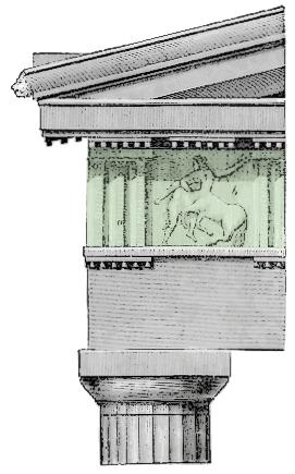 Doric Parthenon Frieze
