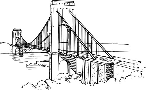 suspension bridge  buildings  bridge  suspension bridge png html