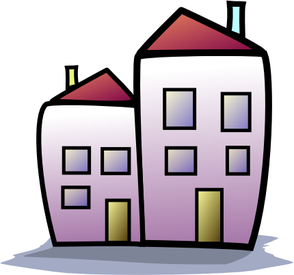 Apartment Building Buildings City Apartment Building Png Html