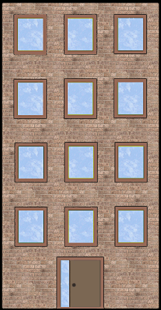 Brownstone Brick Texture
