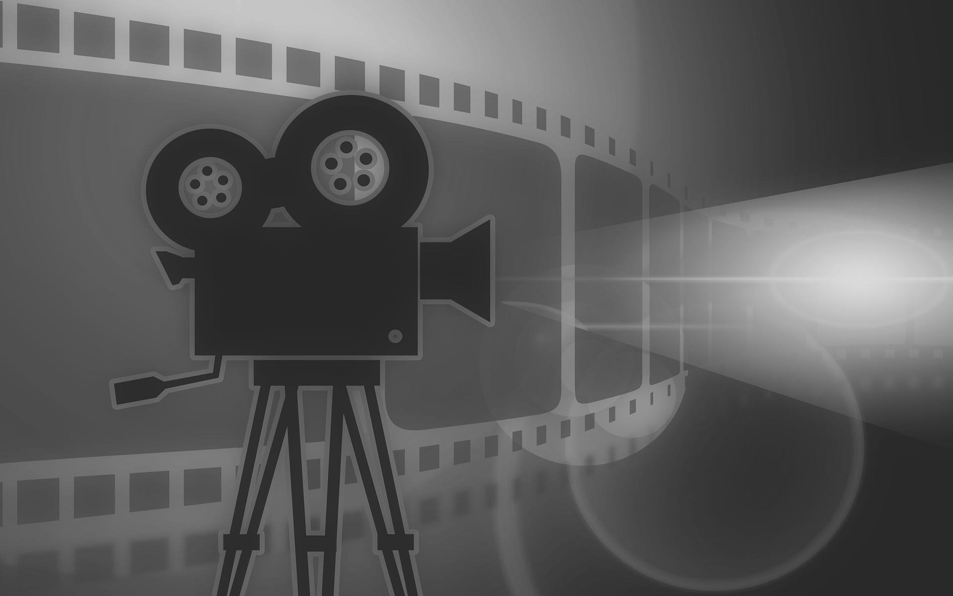 Movie Camera Wallpaper