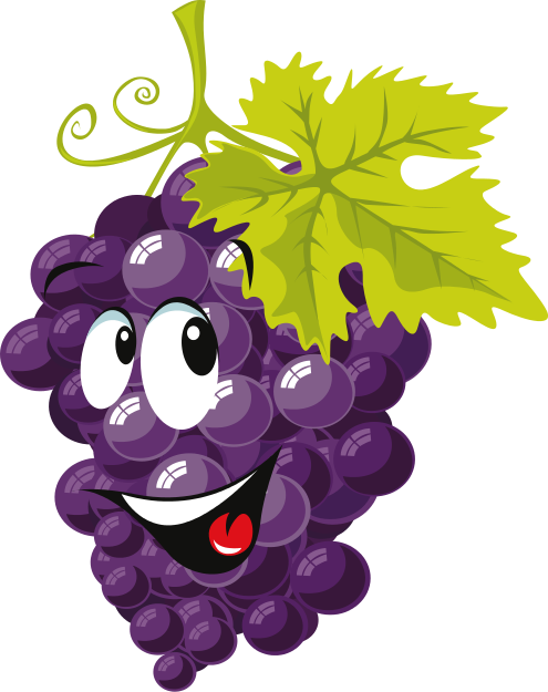 cartoon grapes   cartoon  food  cartoon grapes png html Smiley Face Clip Art Black and White images clipart smiley face