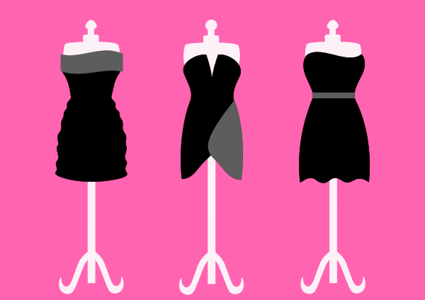 clipart of dress