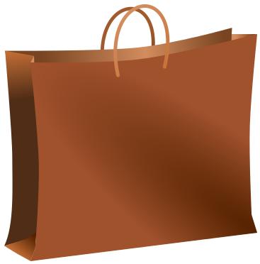 shopping bag brown - /clothes/shopping/shopping_bag ...