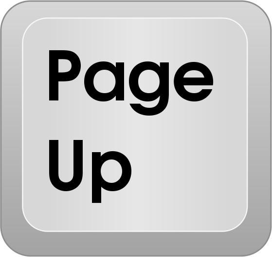 computer key page up   computer  keyboard keys  special key clip art templates kentucky clip art free