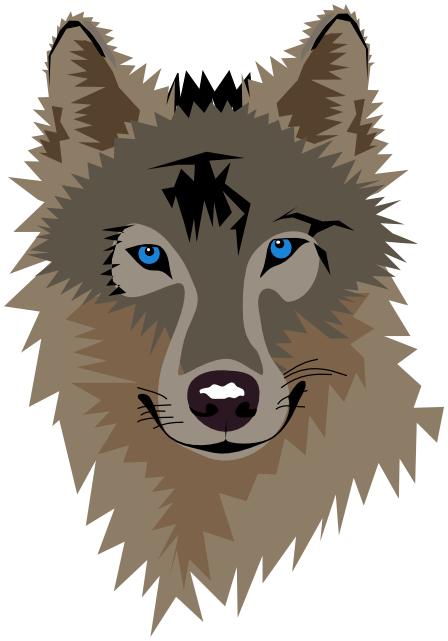 Wolf Head Blue Eyes Animals W Wolf Wolf Head Wolf Head