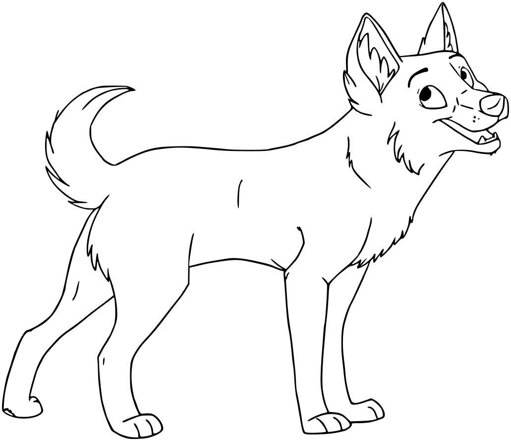 Line Art Of Animals : Wolf lineart animals w