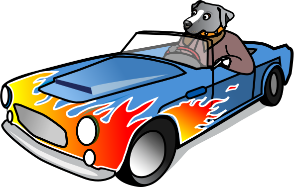 Cartoon Sports Car Clipart Png