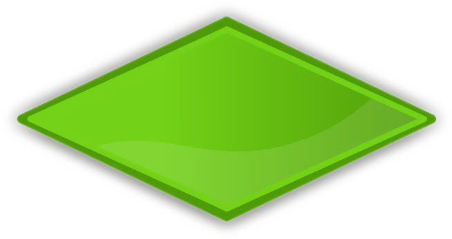color label diamond green   blanks  shapes  color labels diamond clip art images diamond clip art free