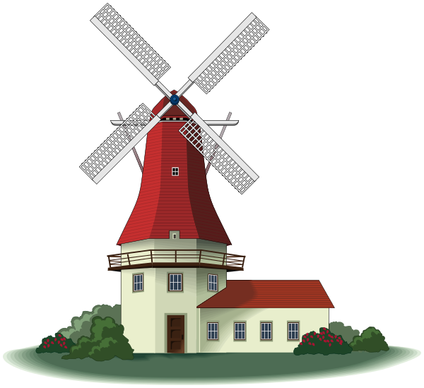 windmill 03   buildings  windmill  windmill 03 png html building clip art free downloads building clipart image