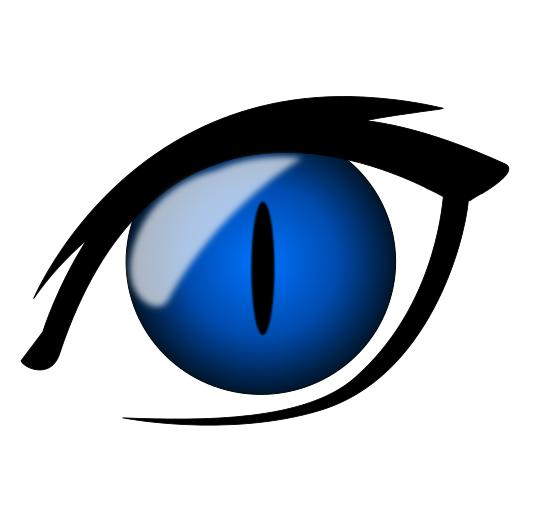 anime eyes clipart - photo #20