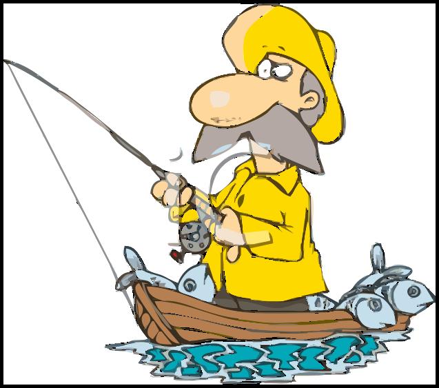 fisherman in boat - /cartoon/people/fishing_cartoons ...