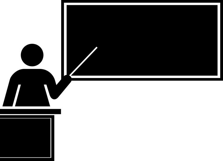 blackboard teaching   education  chalkboard  teacher clip art of a teacher at her desk clip art of a teacher's desk