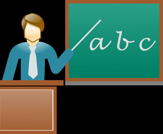 teacher blackboard pointing   education  chalkboard clip art of a teacher teaching clip art of a teacher and family