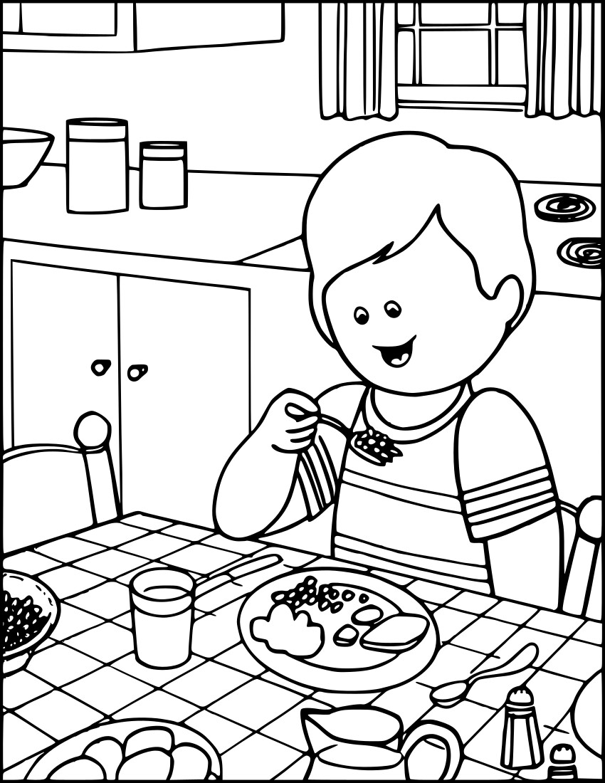 Image Result For Praying Food Coloring Pages