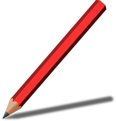 pencil with shadow red   education  supplies  pencils shadow clipart image walking shadow clipart image walking