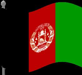 Afghanistan Flag Foto
