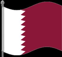 qatar flag waving flagscountriesqqatarflagwaving