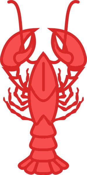 lobster outlined - /food/seafood/lobster/lobster_outlined.png.html