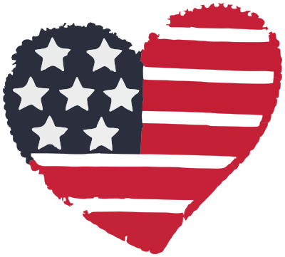 American heart - /holiday/4th_July/American_heart.png.html