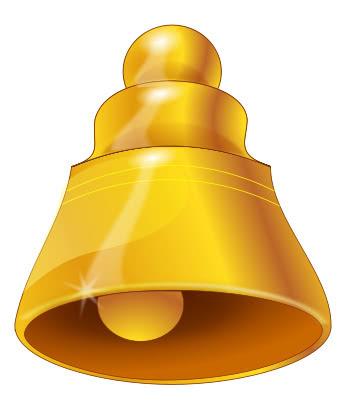bell gold 2   holiday  christmas  bells  christmas bells belle clip art bell clip art free