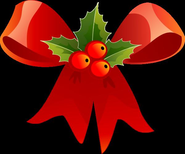 Christmas Ribbon Holiday Decorations
