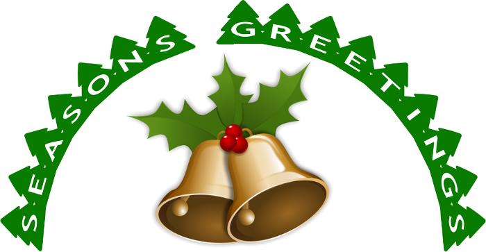 seasons greetings trees bells   holiday  christmas season clipart season clipart for kids