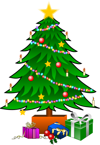 Christmas Tree Clip Art Pictures