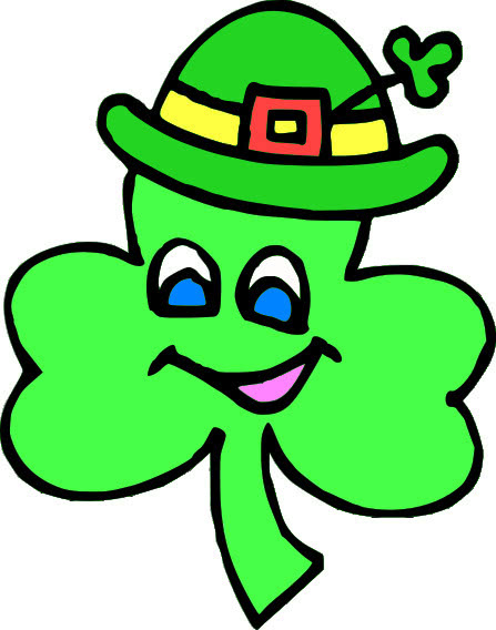 shamrock cartoon 3   holiday  saint patricks day  shamrock free st patrick s day clipart free st patrick's day clip art free