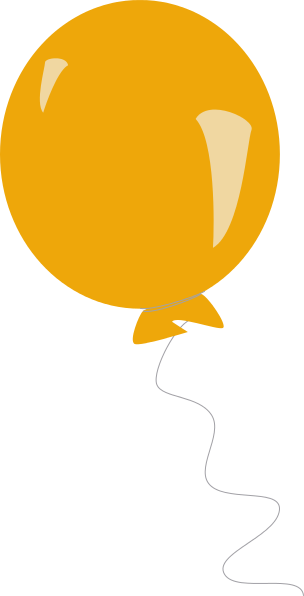 Transparent balloons png picture - Balloon Round Orange Holiday Balloons Round Balloon