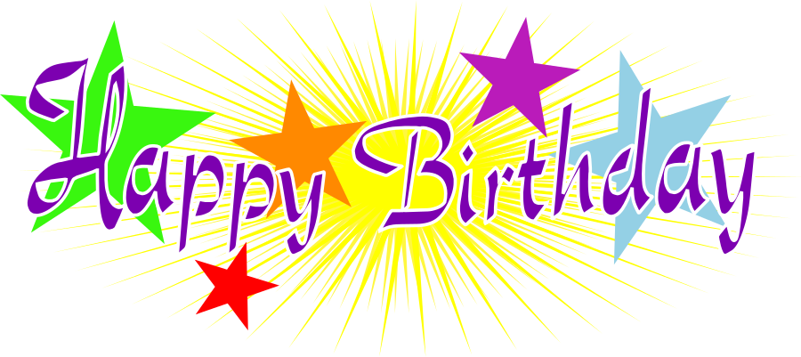 Purple Transparent Birthday Cake