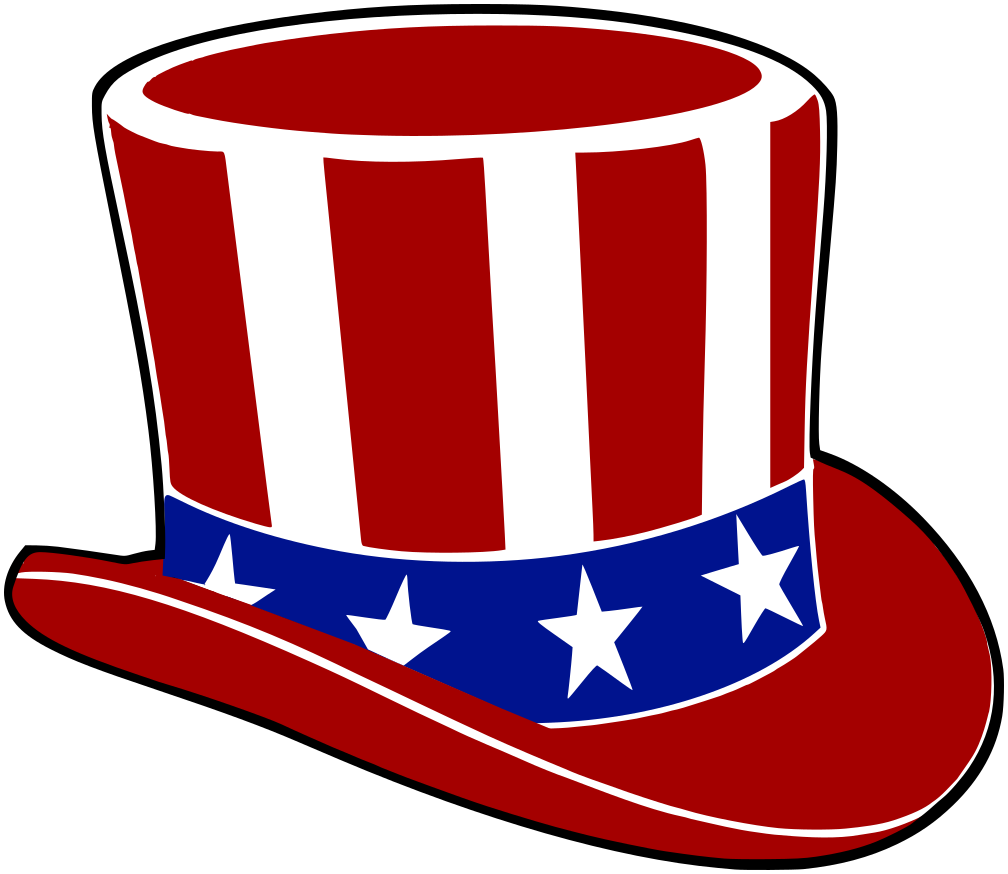 uncle sam vote hat   holiday  election day  uncle sam vote voter clipart vote clipart black and white