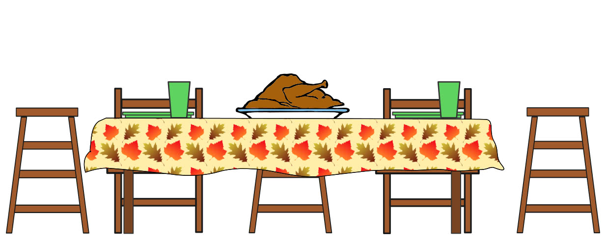 thanksgiving dinner in yosemite