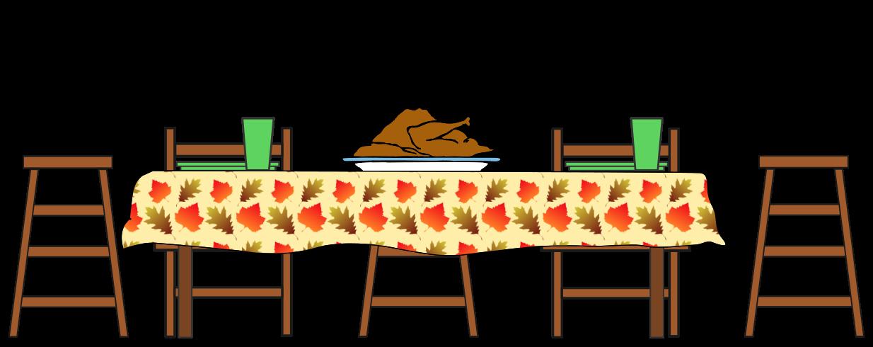 turkey dinner table holidaythanksgivingturkey3  : turkeydinnertableT from www.wpclipart.com size 1234 x 490 png 125kB