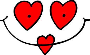 valentine heart eyes lips   holiday  valentines  valentine clip art lip smacking clip art lips kiss