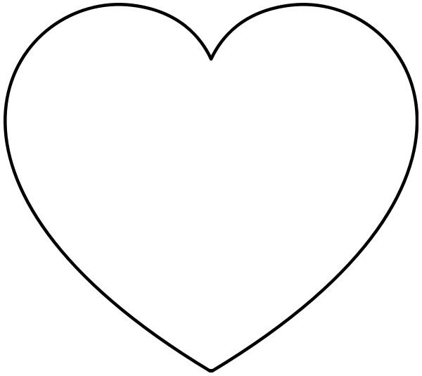 simple heart   holiday  valentines  valentine hearts  basic clip art hearts love clip art hearts border