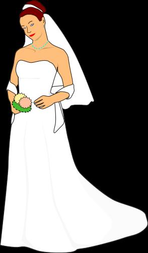 Bride.png on Transparent Wedding Clip Art