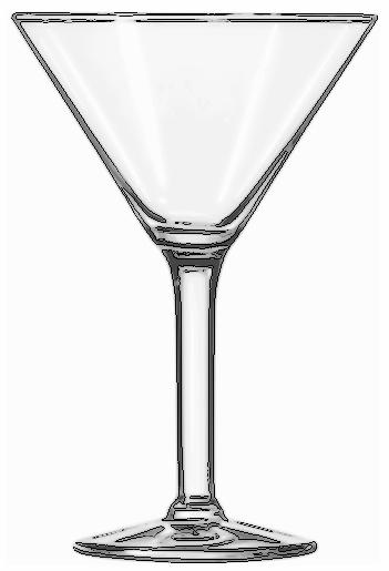 Cocktail Glass Martini Household Kitchen Glasses