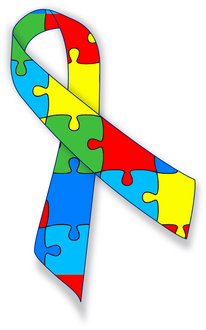 Autism awareness ribbon - /medical/medical_problems ...