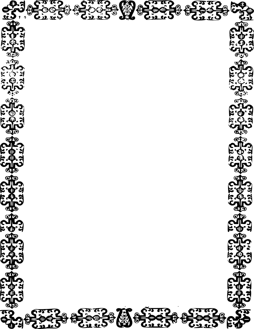 clipart page borders